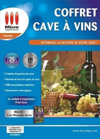 Coffret cave à vins