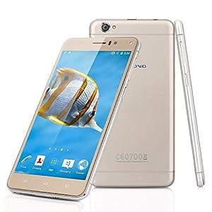 Landvo XM100 Pro - 3G Smartphone Libre Android 5.1 (Quad Core, Pantalla HD 5.5
