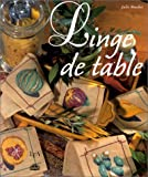 echange, troc Julie Muchir - Linge de table