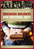 echange, troc - - Encyclopedia of American Holidays and National Days, Volume 1