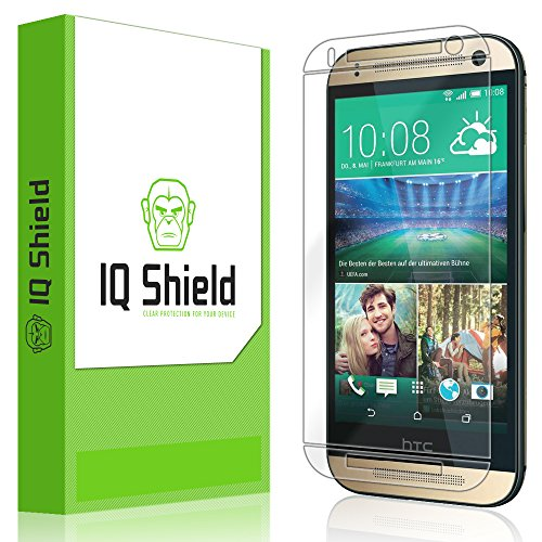 Iq Shield Liquidskin - Htc One Mini 2 / Htc One Remix Screen Protector With Lifetime Replacement Warranty - High Definition (Hd) Ultra Clear Smart Film - Premium Protective Screen Guard - Extremely Smooth / Self-Healing / Bubble-Free Shield - Kit Comes In