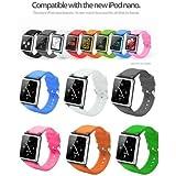 i watchz iPod nano 第6世代 腕時計 タイプ / ケース nano 6(ブラック)
