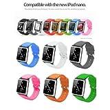 i watchz iPod nano 第6世代 腕時計 タイプ / ケース nano 6(レッド)