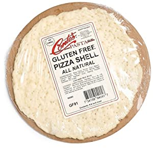 Conte's Gluten Free Prebaked Pizza Shell, 8-Ounce Boxes (Pack of 5)