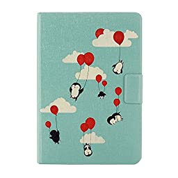 Joddge(TM) iPad mini Case, iPad mini 2 Case, iPad mini 3 Case, Ultra Slim Stand Smart Leather Case Cover with Auto Sleep/Wake Function for Apple iPad mini / mini 2 / mini 3 (03# Baby Penguins)