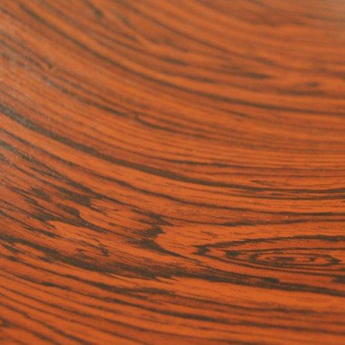 "Rosewood Wood Grain Film Vinyl Sheet Roll Wrap - 24"" Rosewood"