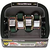 SmartStraps 146 Green 10' 900 lbs Capacity Cambuckle, (Pack of 4)