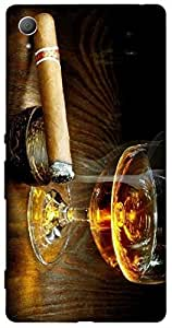 Timpax Hard Back Case Cover Printed Design : Party all night.100% Compatible with Sony Xperia Z-3
