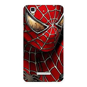 Cute Spide Two Red Back Case Cover for Yu Yureka