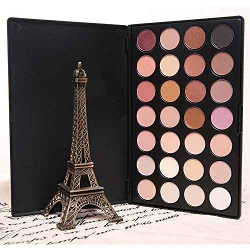 Micropromo® New Professional Neutral Warm Colors Makeup Eyeshadow Palette Eye Shadow (28 Colors)