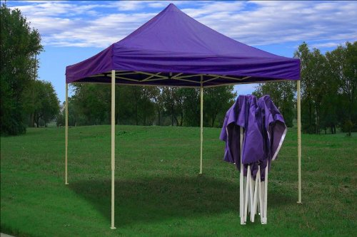 10x10 Pop up 4 Wall Canopy Party Tent Gazebo Ez Purple !# & 8# 10x10 Pop up 4 Wall Canopy Party Tent Gazebo Ez Purple | !#8 ...