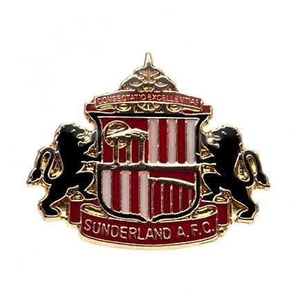 Sunderland F.C. Badge- metal badge- enamel finish- stud fix- approx 30mm