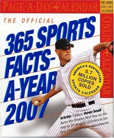 The Official 365 Sports Facts-A-Year Page-A-Day Calendar 2007