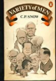 Variety of Men (014002896X) by Snow, C. P.