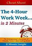 Cheat Sheet: The 4-hour Workweek ...I...