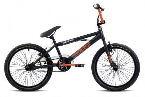 20 Zoll BMX Rooster Go Trusting viele Farben + Pegs, Farbe:schwarz/orange