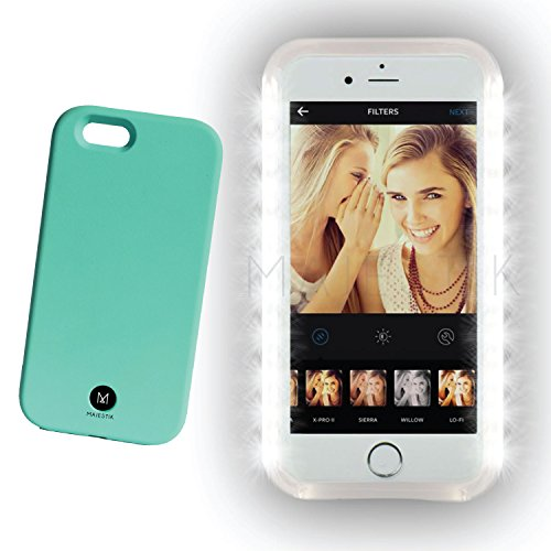 Majestik 4 Effect Dimmable Selfie Light Case with Charger for iPhone 6 / 6S - Mint (Cool Glow For Iphone 4 compare prices)
