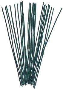 Bond 425 25 Pack 4 Feet Bamboo Stakes Garden Stakes Patio Lawn Garden