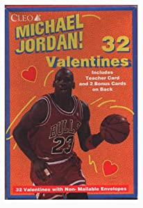 Michael Jordan Valentine's Day Cards