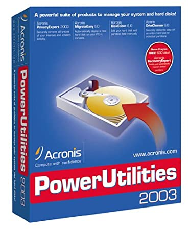 Acronis PowerUtilities 2003