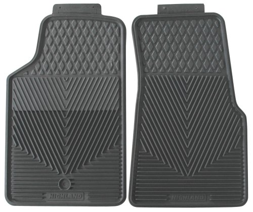 Highland 4503500 All-Weather Gray Front Seat Floor Mat front-65603