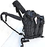 "Tactical Assault Pack - Combat Rucksack - 17"" Military MOLLE Backpack 27L"