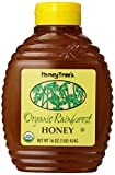 HoneyTree's Organic Rainforest Honey, 16-Ounce Bottles (Pack of 6)