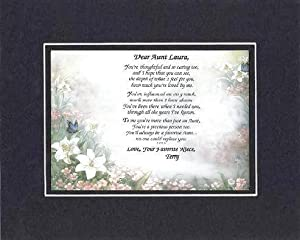 Amazon.com: Personalized Touching and Heartfelt Poem for