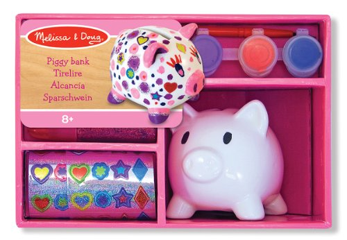 Decorate Your Own Porcelain Piggy Bank - 1