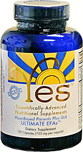 Yes Parent Essential Oils ULTIMATE EFAs Capsules,120 capsules (Yes Parent Omegas compare prices)