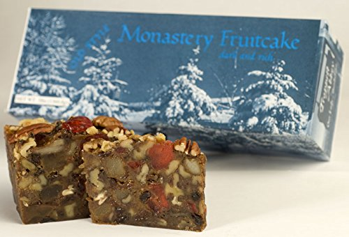Trappist Abbey Monastery Fruitcake 3lb in Gift Box (Fruit Cakes With Rum Or Brandy compare prices)