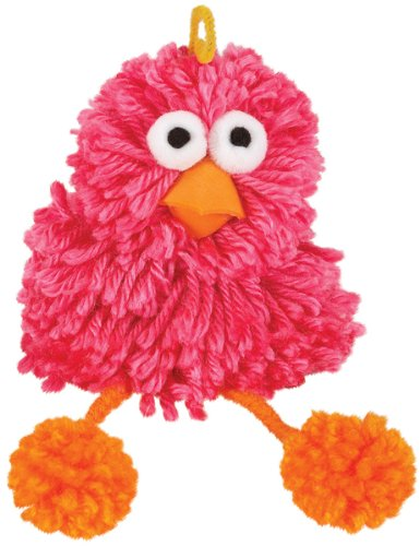 Cuddly Pom Kits - Pink Bird