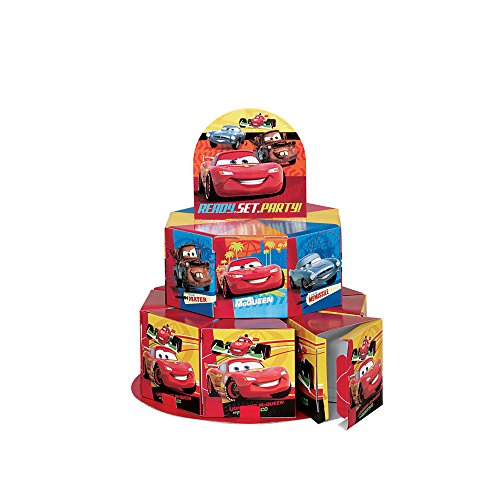 Disney Cars Favor Box Centerpiece Decoration for 8 - 1