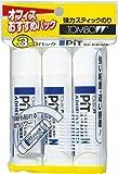 トンボ鉛筆 スティックのり ピットハイパワーN HCA-321 3個