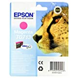 Epson T0713 Cartouche d&#39;encre d&#39;origine DURABrite Ultra magenta pour D78 D92 DX4050 4450 5050 6050 7000Fpar Epson