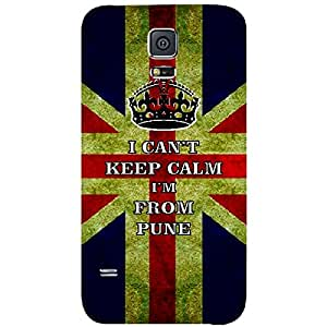 Skin4gadgets I CAN'T KEEP CALM I'm FROM PUNE - Colour - UK Flag Phone Skin for SAMSUNG GALAXY S5 MINI