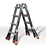 Little Giant 4 Rung Dark Horse Fibreglass Multi-Purpose Ladders, Model 17 | Little Giant Ladder System