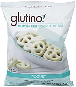 glutino yogurt covered pretzels 5 5 oz grocery gourmet food. Black Bedroom Furniture Sets. Home Design Ideas