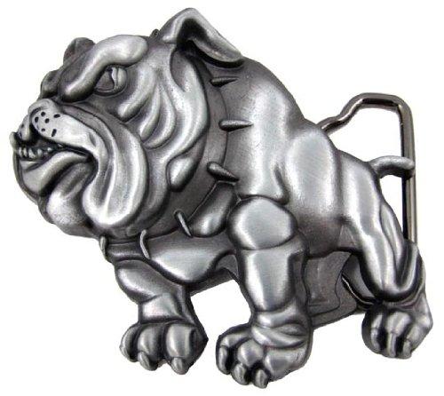 Cool 3-D Bulldog Belt Buckle Bull Dog Junkyard