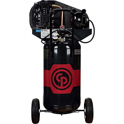- Chicago Pneumatic Reciprocating Air Compressor - 2 HP, 26 Gallon, 115/230 Volt, 1-Phase, Model# RCP-226VP 115-230V/1