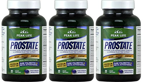 Peak Life - Prostate - (3 Pack of 30 capsules) (Prostate Peak Life compare prices)