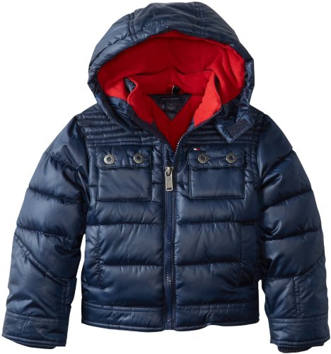 Tommy Hilfiger Boys 2-7 Barclay Jacket, Swim Navy, 03 Regular