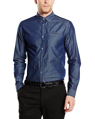 Jack & Jones Premium Camisa Hombre Azul