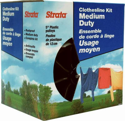 "Ben Mor Cables Inc 90237 ""Strata"" Medium Duty Clothesline KIT"
