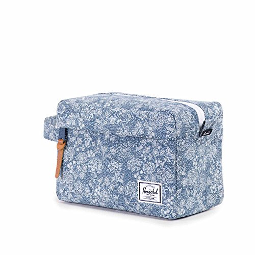 Herschel Chapter Travel Kit Kulturtasche, Floral Chambray