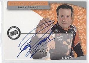 Robby Gordon (Trading Card) 2002 Press Pass Autographs #RG by Press Pass