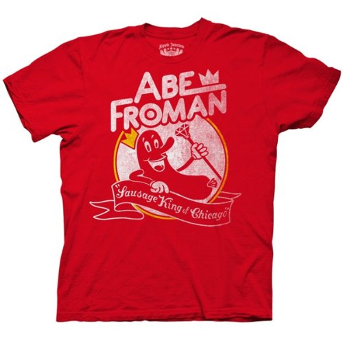 Ferris Bueller's Day Off - Mens Abe Froman T-shirt - Large