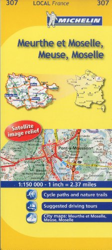 Meurthe-et-Moselle, Meuse, Moselle (Maps/Local (Michelin)) (English and French Edition)