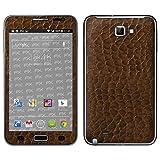 """atFoliX Designfolie """"FX-Everglade-Brown"""" f�r Samsung Galaxy Note (GT-N7000) - ohne Displayschutzfolievon """"Designfolien@FoliX"""""""