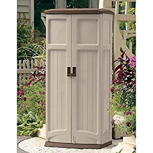 Amazon.com : Suncast 31 x 23 in. Vertical Tool Shed